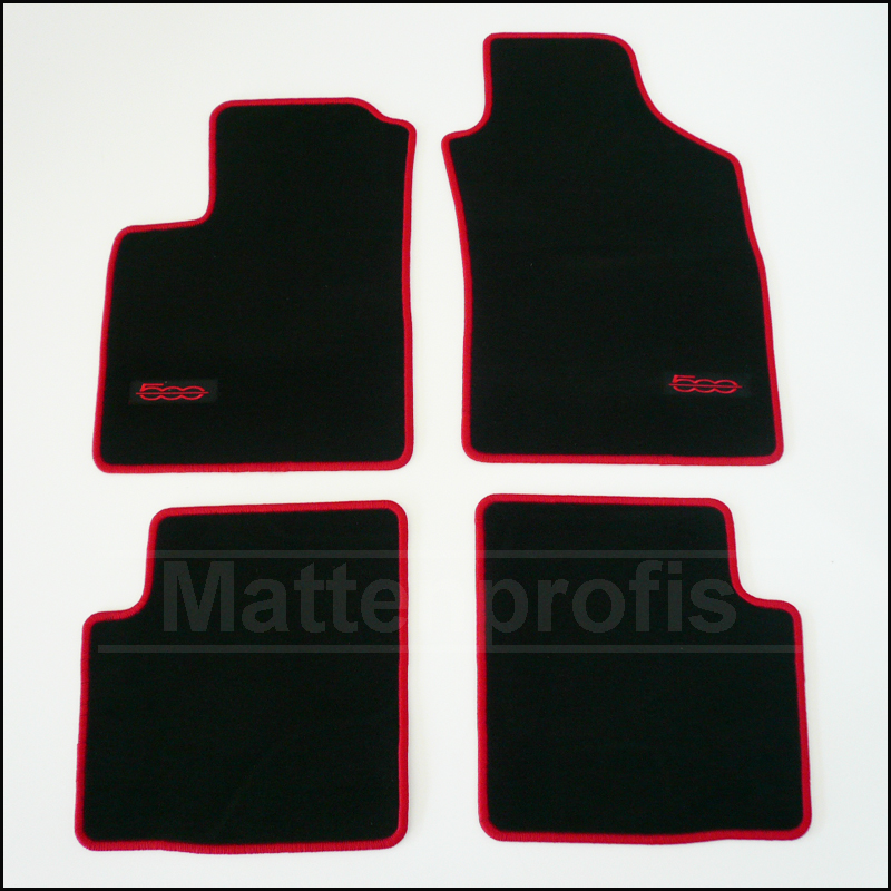 tapis velour fiat 500 abarth haut de gamme classic ou cabriolet ebay. Black Bedroom Furniture Sets. Home Design Ideas