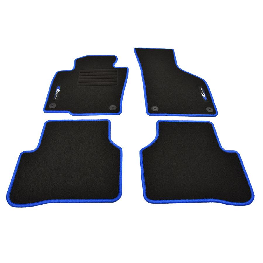 2005-2014 ru MP Velours Edition Fußmatten für VW Passat 3C B6 B7 Limousine Bj