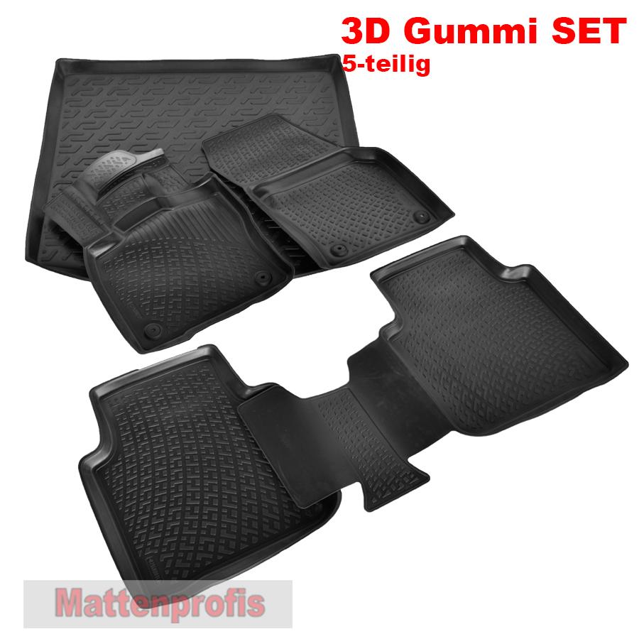 mp 3d gummimatten kofferraumwanne set f r skoda kodiaq. Black Bedroom Furniture Sets. Home Design Ideas