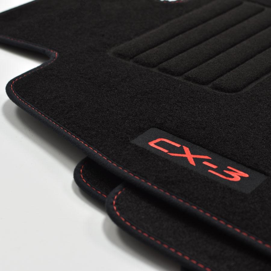 2006-2012 Passform neu BASIC Velours Fußmatten für Mazda CX-7 Bj