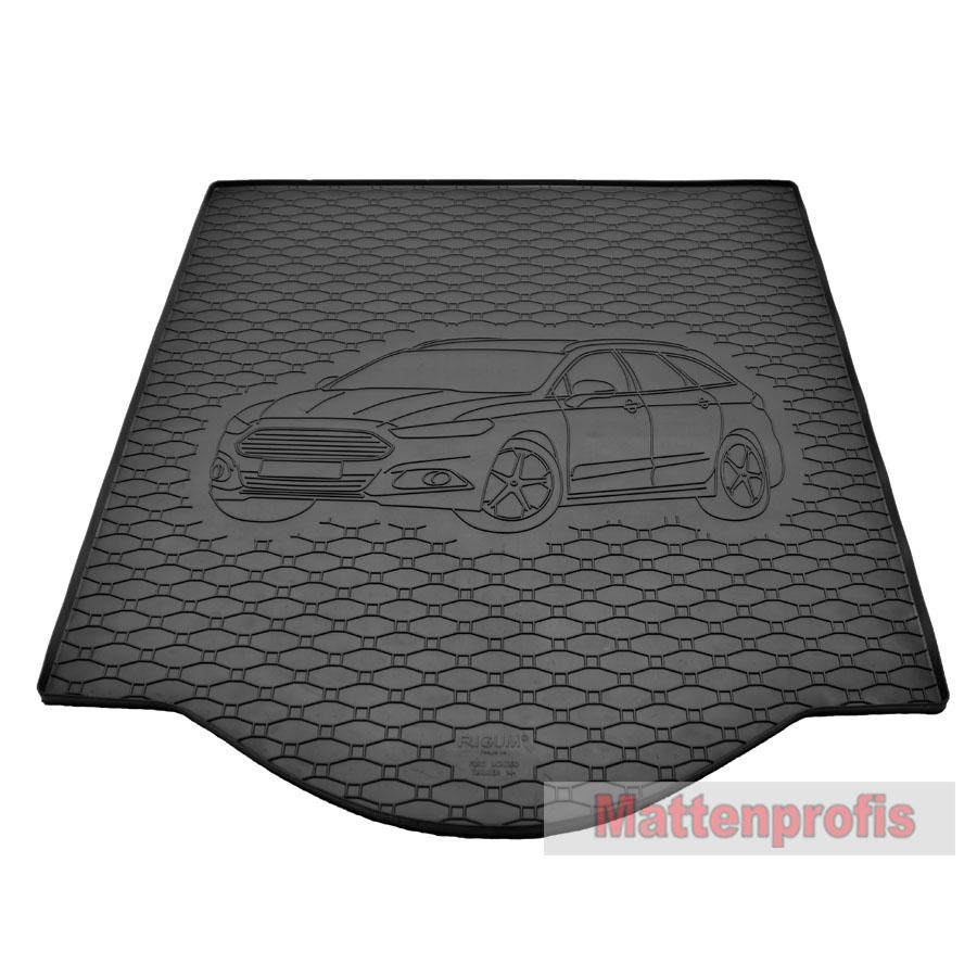 Ford Mondeo V Bj 2014 Fußmatten Autoteppiche CARBON