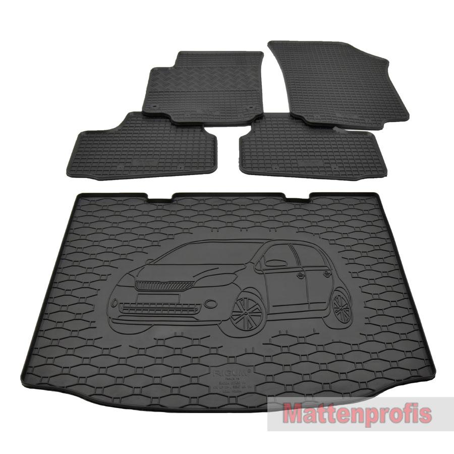 2015 Gummimatte Kofferraumwanne GKK passend für Opel Astra K Schrägheck ab Bj