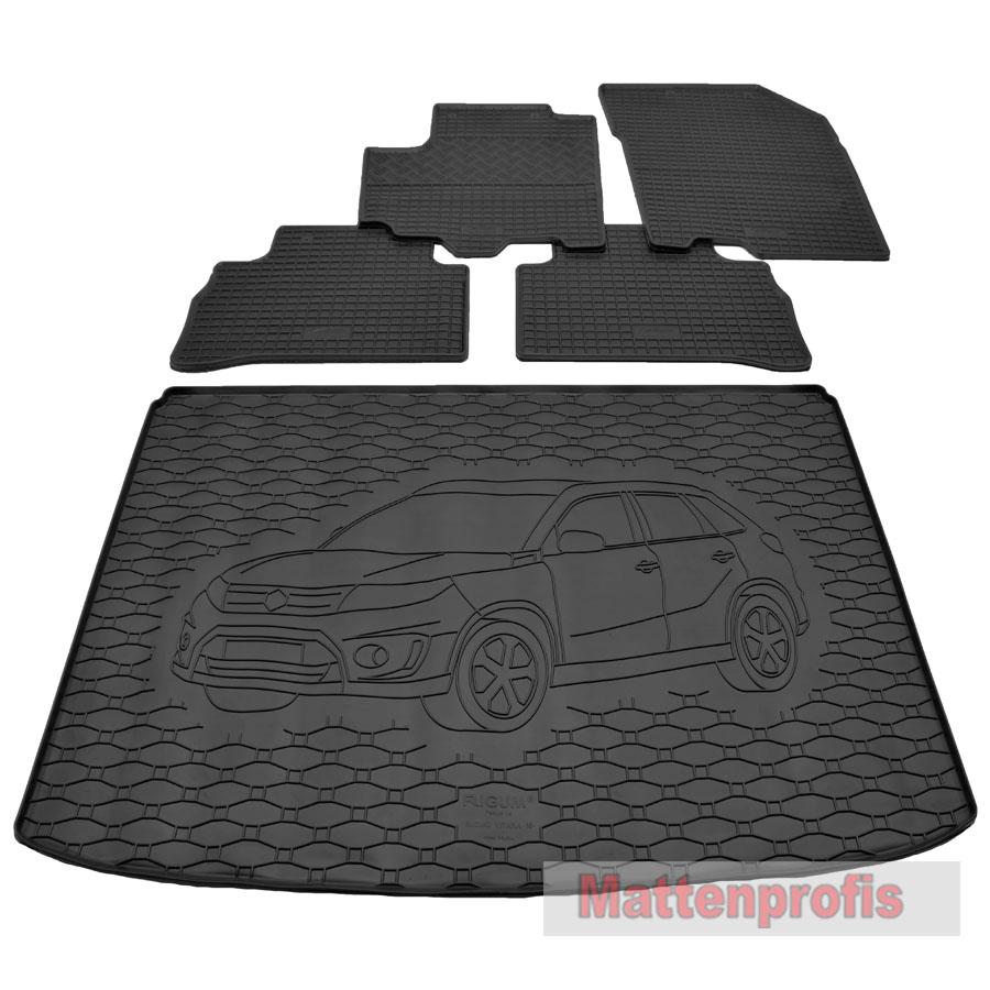 heute  Nov MP Gummimatten Gummifußmatten TPE 3D für Ford Kuga II ab Bj.03//2013