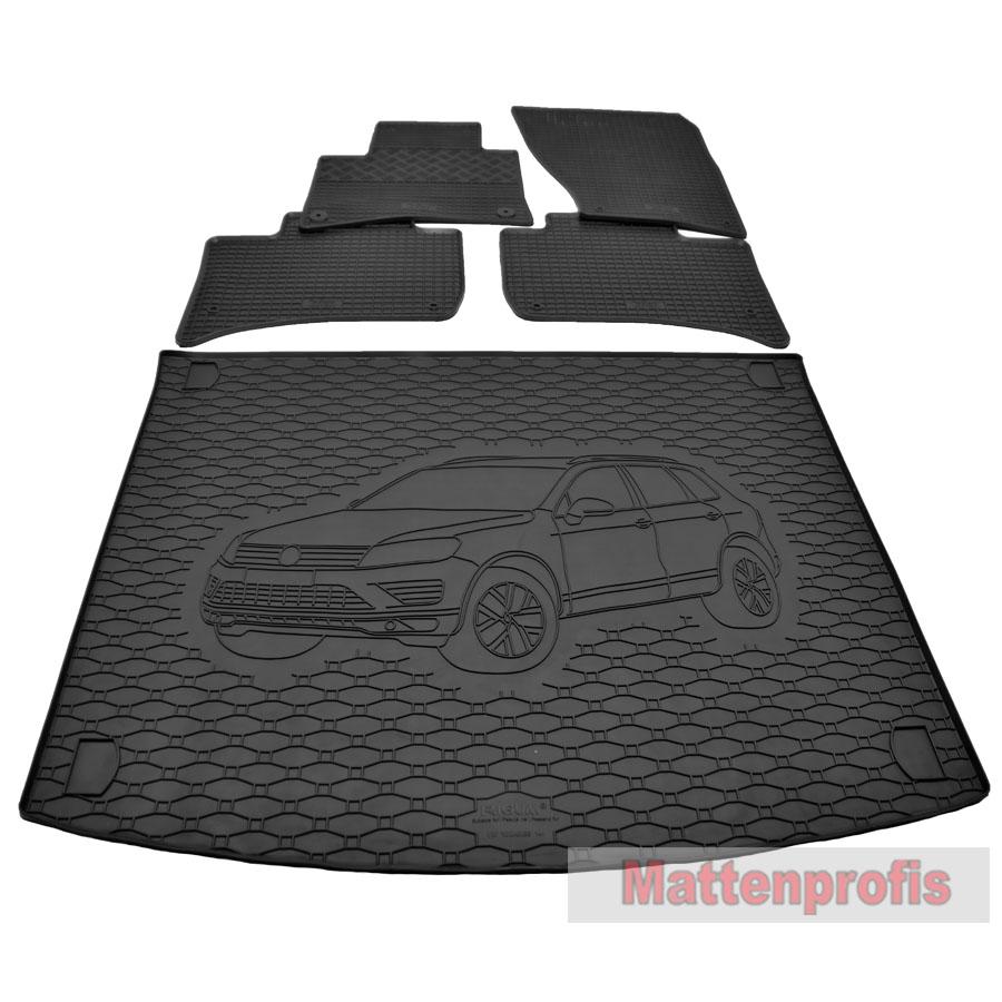 Kofferraumwanne Antirutsch passend für VW TOUAREG II 5-sitzig Bj ab 2010 NEU