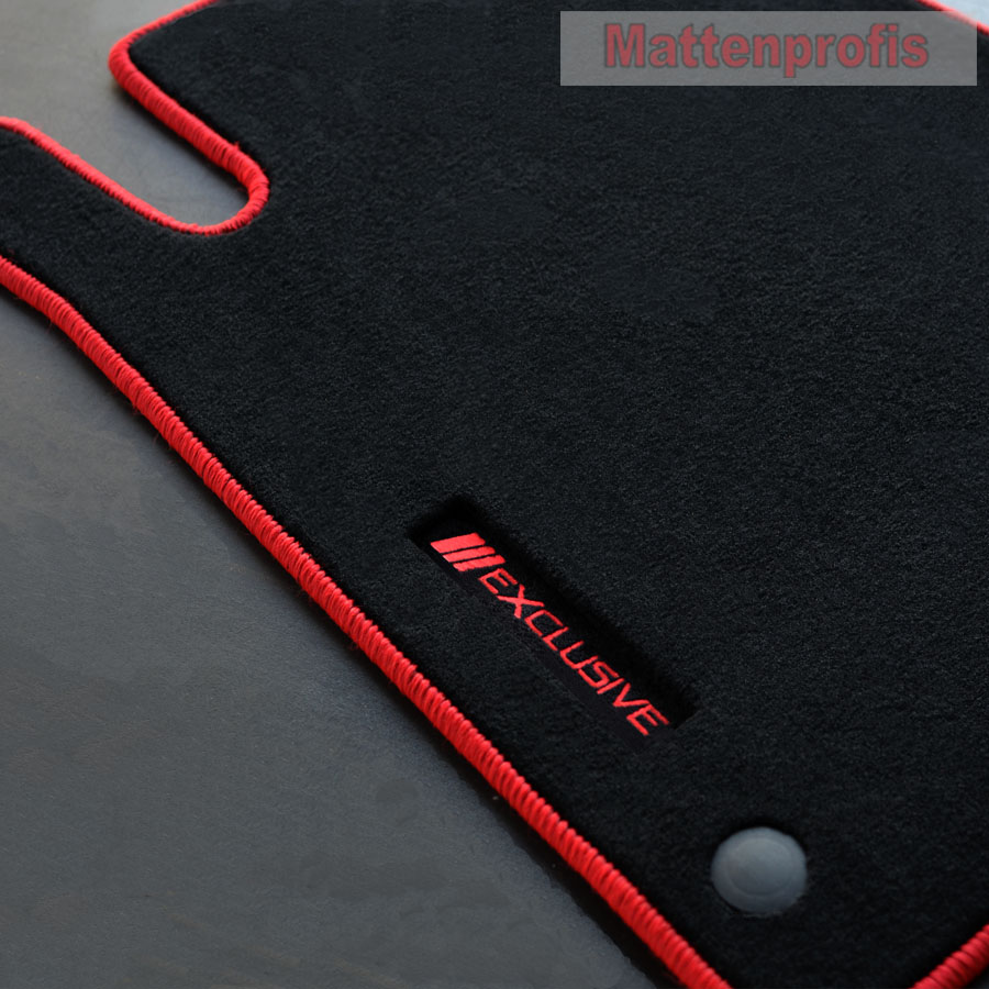 2004-2011 Allwetter Fußmatten für Mercedes SLK R171 Bj