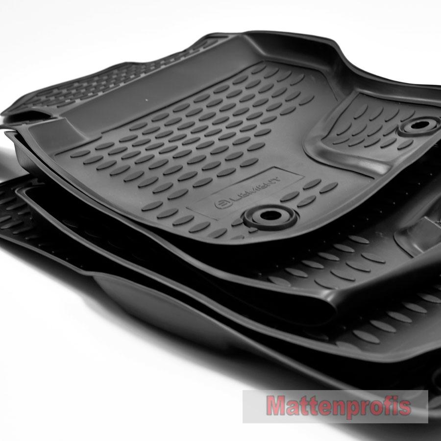 2016 Nov Gummimatten Gummifußmatten 3D TPE für Audi A3 8V ab Bj