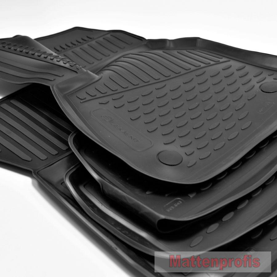 MP Gummimatten Gummifußmatten TPE 3D für BMW X1 E84 ab Bj.2009-2015 Nov
