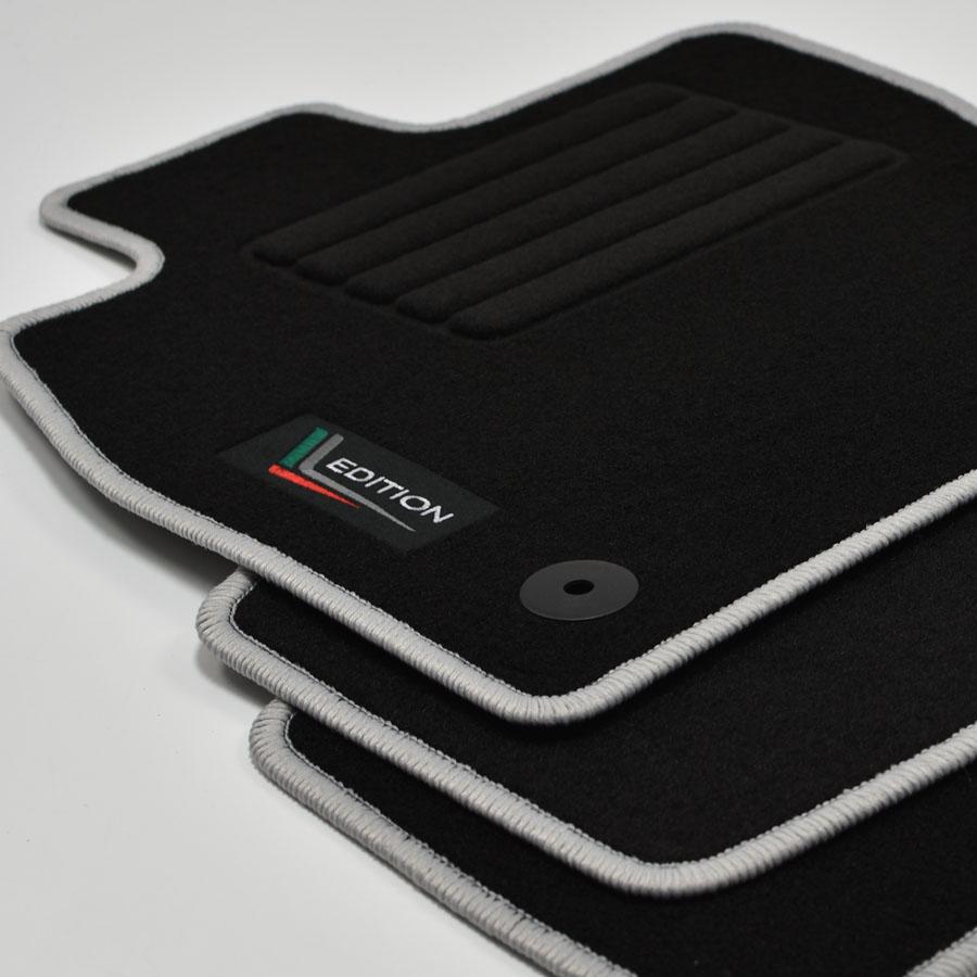 MP Velours Edition Fußmatten für Skoda Octavia III 5E Kombi ab Bj.11//2012 rot