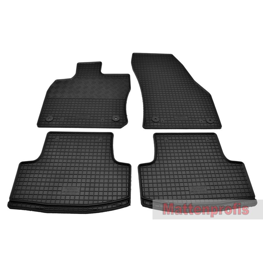 Gummi Kofferraumwanne Anti-Rutsch passend für VW T-Roc A11 ab Bj.2017 Nov