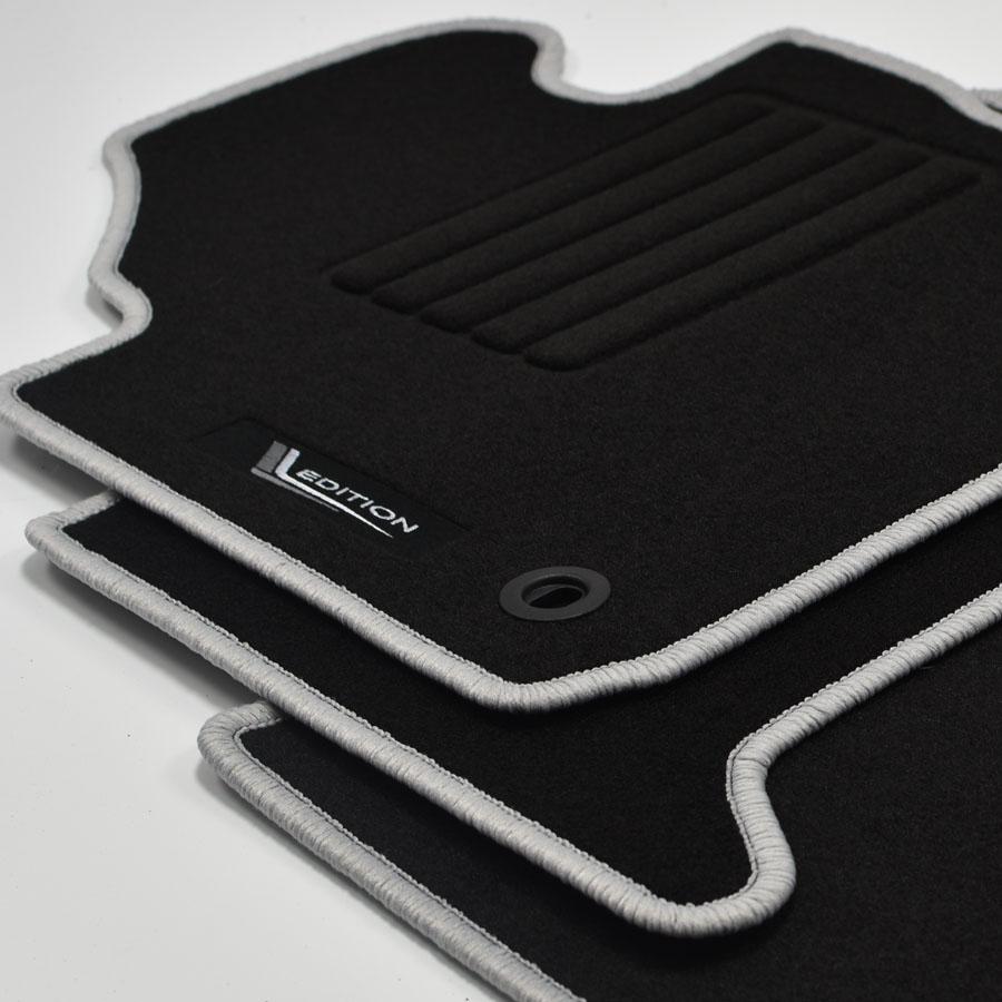 Mattenprofis Velours Edition Fußmatten für VW Touran 1T ab Bj.2003-2010 ov sil